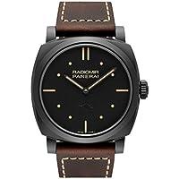 PANERAI Radiomir 1940 3 Days Ceramica Black Dial Men's Watch