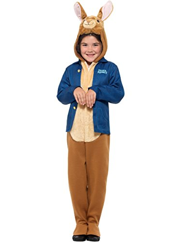 Smiffys Officially Licensed Peter Rabbit Deluxe Costume, Blue, S - 4-6 Years