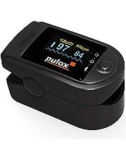 Pulsoximeter PULOX PO-200 Solo vingerpulsoximeter voor het meten van de hartslag en zuurstofverzadiging aan de vinger
