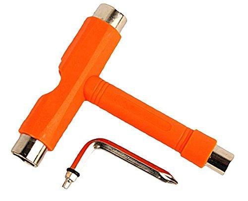 U/K nützlichSkateboard Roller Werkzeug Rollschuh Skateboard Werkzeuge T Typ Skate Werkzeug Mini Kick Lange Bord Schraubenschlüssel Werkzeuge Accessories-1pc Langlebig und nützlich