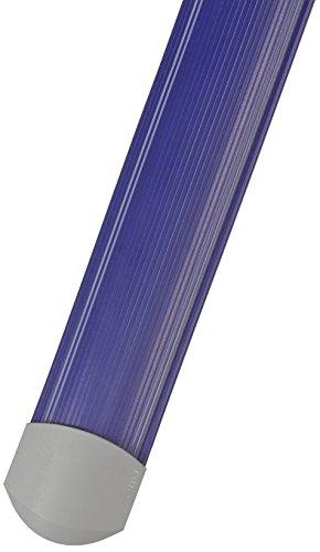 SERPA - Accesorio protegecables B9, aislado eléctricamente, sin halógenos, sin PVC, 1,5 m, plástico duro, color azul