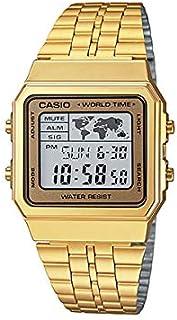 Casio Casual Watch Digital Display for Unisex A500WGA-9