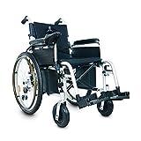DSVBNM Silla de Ruedas eléctrica Scooter de Ancianos discapacitados Plegable Coche eléctrico de Yatour Walker