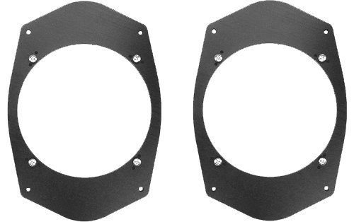 Universal 6'x9' 6x9 to 6 1/2' 6.5 Speaker Adapter Spacer Rings - SAK045_55-1 Pair