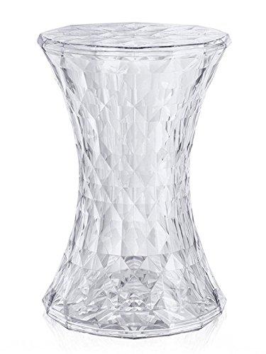 Kartell - Stone Hocker - glasklar - Marcel Wanders - Design - Hocker - Beistelltisch