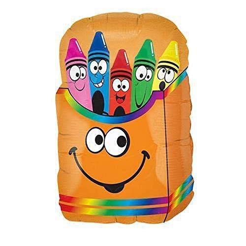 Betallic 015450 Crayon Smiley Box, 28', Multicolor
