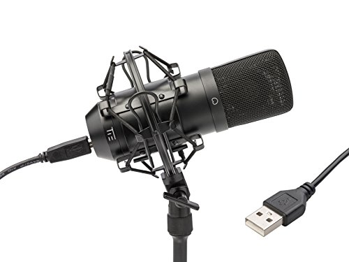 Tie Studio - Micrófono USB, negro