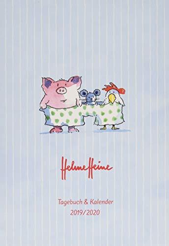 Helme Heine 17-Monats-Kalenderbuch A6: Von August 2019 bis Dezember 2020. Taschenkalender 2020. 17-Monate Wochenkalendarium. gebunden. Format 11,5 x 16,3 cm