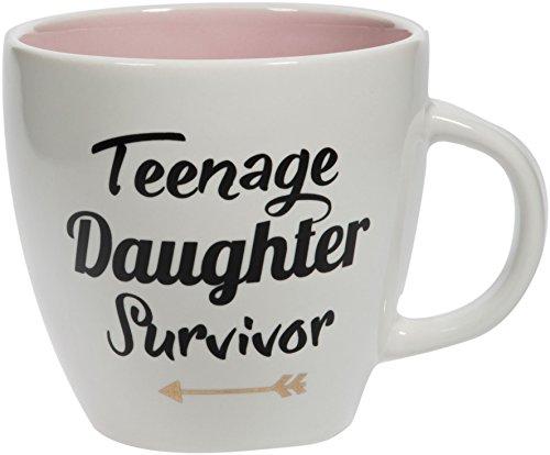 Gift Boutique 16oz Teenage Daughter Survivor Mug, Mother's...