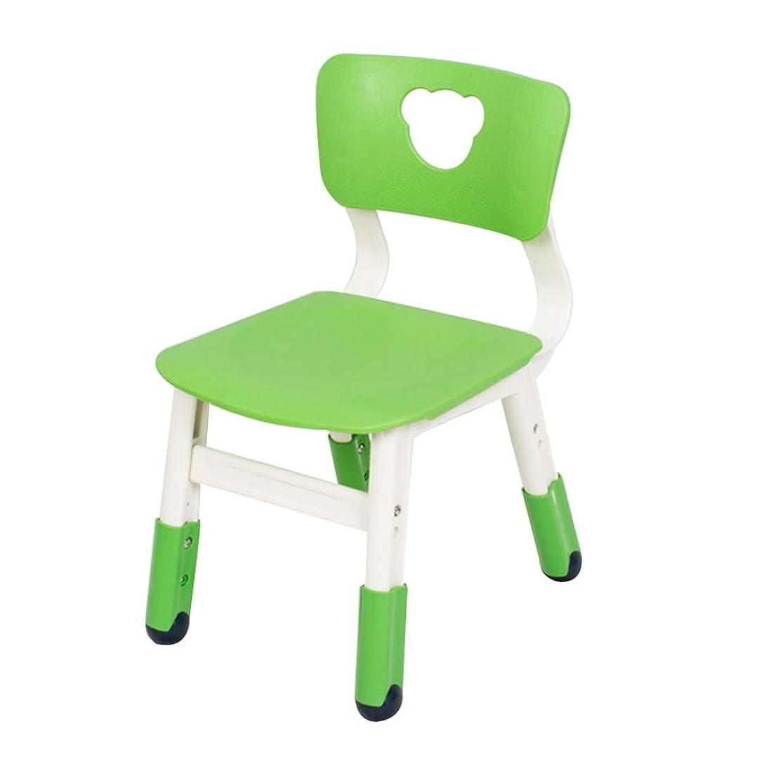 ホテル流星パスポートZHAOHUI キッズテーブルとチェアセット 子 プラスチック テーブルと椅子 幼稚園 寝室 学ぶ ゲーム 調節可能な高さ、 70キロをロード (Color : S)