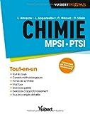 Chimie MPSI-PTSI - Tout-en-un - Conforme au nouveau programme