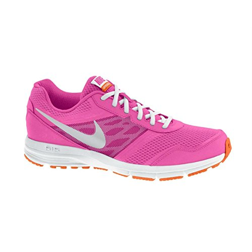 Nike Mädchen Air Relentless 4 Laufschuhe, Rosa/weiß/orange, 37.5 EU