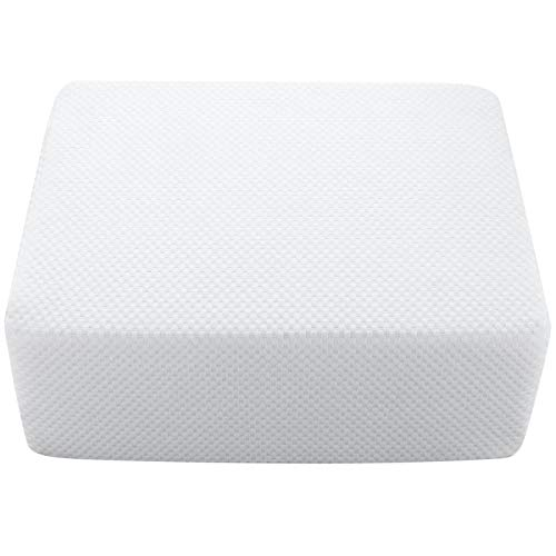 Cube Pillow, Ergonomic Memory Foam Pillow Cube for Side Sleepers Neck Support Pillow Soft Head Cushion Thicker and Firmer Pillow for Vertebral Protection Pillow, 15X12X6 Inch