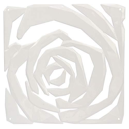 Koziol Romance divisorio/Ornamento, plastica, plastica, White, 0.4x26.9x27 cm