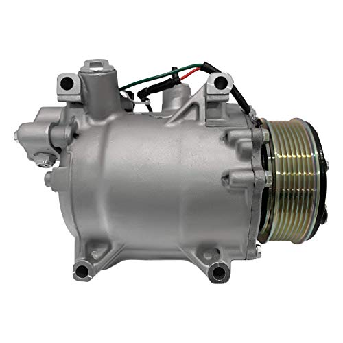 RYC New AC Compressor and A/C Clutch IH580-01 (Fits Honda CR-V 2.4L 2007-2014; and Acura RDX 2.3L 2007-2012)