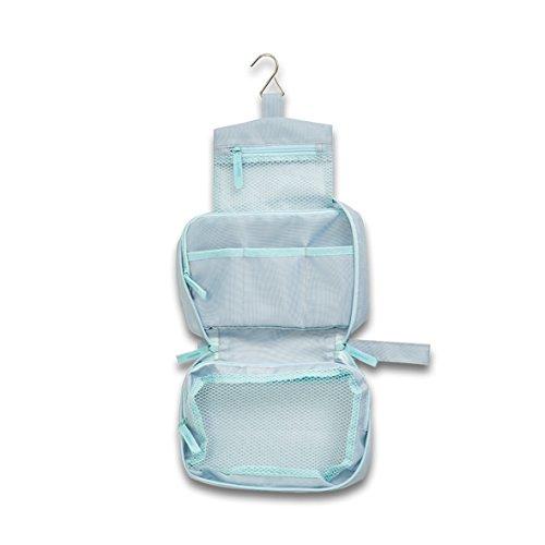 Zeller Kosmetik-Multi-Case, Polyester, grau, 22 x 14 x 8 cm