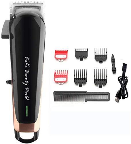 Haarschneider for Männer Professionelle wiederaufladbare Akku-Haarschneide Set mit 6 Schutz Combs Built-in 2000mAh Li-Ionen-Akku und High-Performance-Motor ZHW345