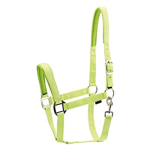 Horse Guard Nylonhalfter für Pferde - Lime - Vollblut