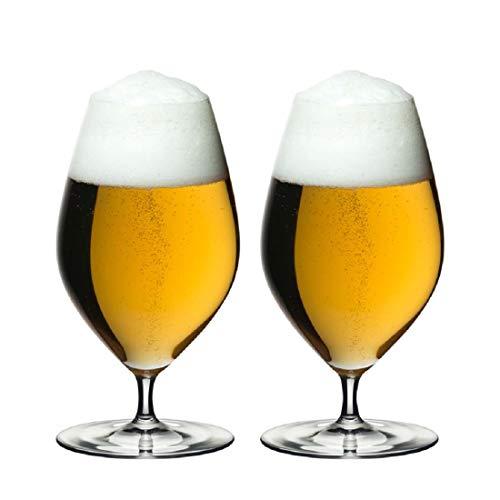 RIEDEL Veritas Beer Copas de Cerveza, Cristal, 435 ml