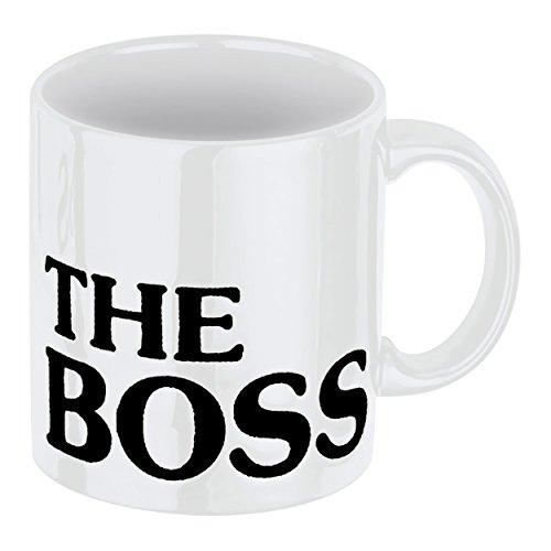 Waechtersbach Henkelbecher The Boss - Weiß