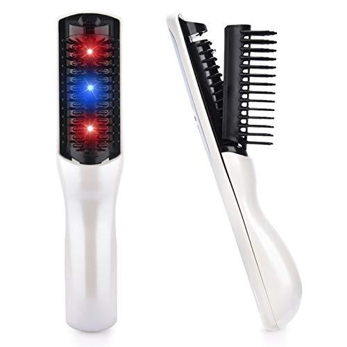 KaKaDz Masseur de Peigne de Cuir Chevelu, Combinaison Infrarouge Multifonctionnelle Croissance des Cheveux Laser Peigne Anti-Statique pour Soins Capillaires