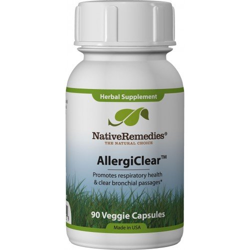 AllergiClear for Allergy and Respiratory Relief - 3-Bottle Value Pack