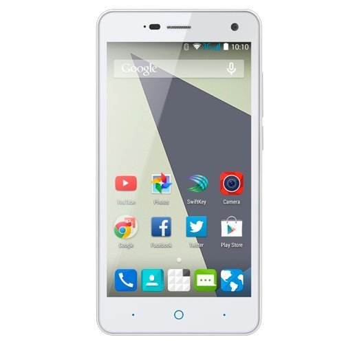 "Zte Blade L3 - Smartphone Libre Android (5"", Wi-Fi, Bluetooth, 8 GB, 1 GB de RAM, 8 MP), Color Blanco"