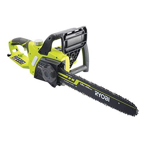 Ryobi 5133002186 RCS2340-Motosierra eléctrica (guía de 40 cm, 2300 W, Verde, Negro
