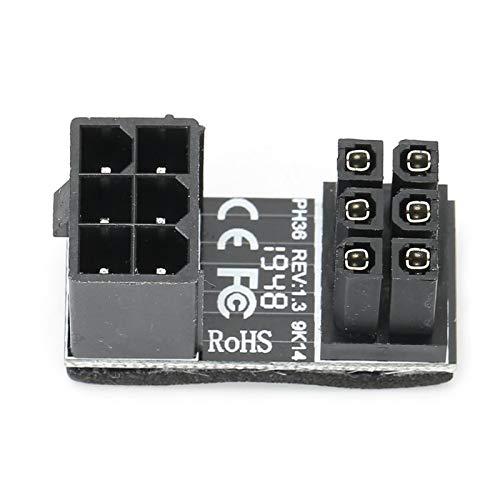 Socobeta Netzteil 6PIN 8PIN-Schnittstelle Grafikkarte Stromanschluss USB3.0-Anschluss für Host-Verkabelung