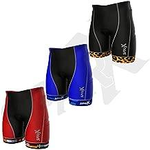 Sparx Men`s Competitor Triathlon Shorts Men Triathlon Shorts Triathlon Bike Shorts Men (Flags)