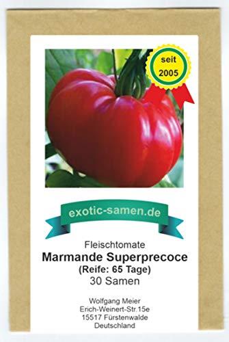 Marmande Superprecoce - sehr frühe, rote Fleischtomate - 30 Samen