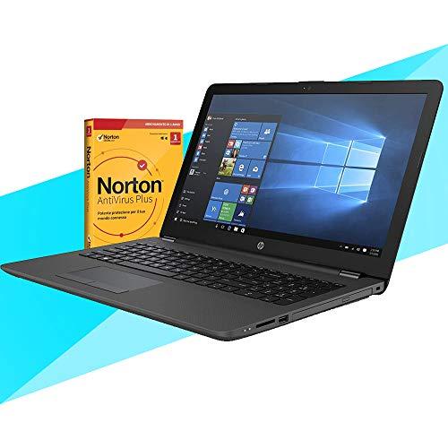 "Hp 255 G7 Notebook hp, pc portatile per la DAD, Display da 15.6"" Fino A 3.20GHz,Ram 8Gb Ddr4 SSd M.2 500Gb,Cpu A6,Pc portatile Hp,Hdmi,DVD,Cd RW,Wi fi,Bluetooth,Windows 10 professional+Antivirus"
