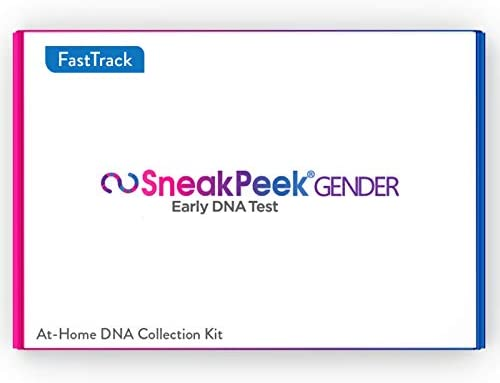 SneakPeek Early Gender at Home DNA Test Kit Predicts Baby Gender at 99 9 Accuracy Fast Track product image