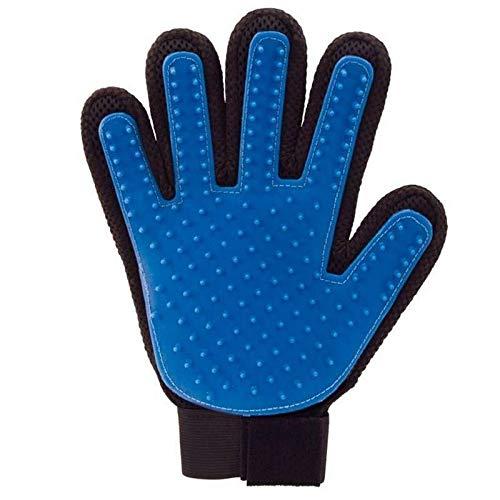 Veerve rechterhand huisdier Grooming handschoen Deshedding Bont verwijderen massage zacht | Voor honden katten en paarden
