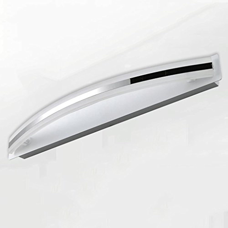 WTL Lighting LED-Spiegel Licht modernen minimalistischen Acrylbadezimmerspiegelschrank LED-Leuchten ( Farbe   Wei-12w43cm )