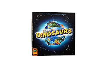 Pandasaurus Games Gods Love Dinosaurs - A Competitive Strategy Board Game of Food Chain Hierarchy - Family-Friendly Board Games 45-60 min Ages 8+  2-5 Players