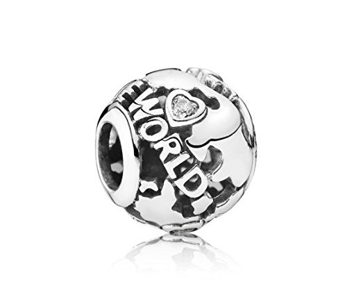Pandora Around the World Charm by Unknown