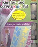 Wall Magic Kid's Border and Accent Kit : Fun with Flowers, Clouds & Butterflies