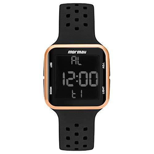 Relógio Mormaii Unissex Wave Preto MO6600/8J MO6600/8J