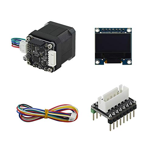 Aibecy STM32 42 Closed Loop Stepper Motor MKS SERVO42B with OLED Display Screen Adapter Board Cable Prevent Losing Steps 3D Printer Parts