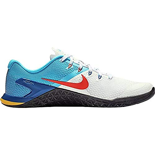 Price comparison product image Nike Men's Metcon 4 Training Shoes (12,  White / Bright Blue)