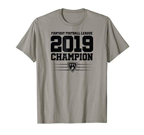Fantasy Football League 2019 Champion FFL T Shirt Men Champ