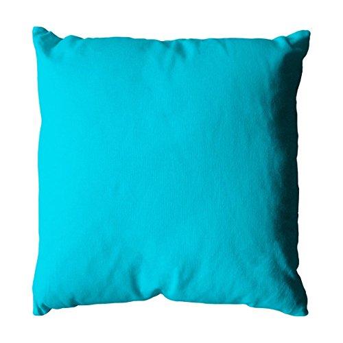 Enjoy Home Coussin 40 x 40 , 400g Turquoise Coton