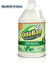 OdoBan Multipurpose Cleaner Concentrate, 1 Gal, Original Eucalyptus Scent - Odor Eliminator, Disinfectant, Flood Fire Water Damage Restoration