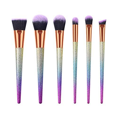 Amuster Pinceau de Maquillage Maquillage Mini Yeux Maquillage Pinceau Maquillage Pinceau Rose Powder Foundation Eyeliner Lèvres Cosmétique Pinceau 10 Pièces