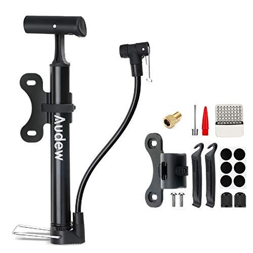 Audew 160 PSI Mini Bike Pump for Presta and Schrader