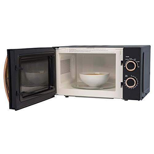 Russell Hobbs RHM1727RG 17 Litre 700 W Rose Gold Solo Microwave with 5 Power Levels, 30 Minute Timer, Defrost Setting…