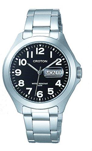 [クロトン] 腕時計 RT-144M-4 メンズ シルバー