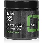 Every Man Jack Beard Butter, 4-ounce (Natural Hemp)