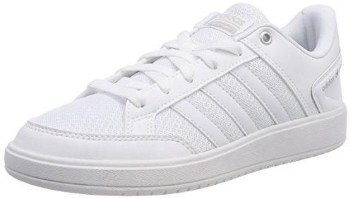 adidas Women's Cloudfoam All Court Tennis Shoes, White (Ftwwht/Ftwwht/Gretwo 000), 9 UK